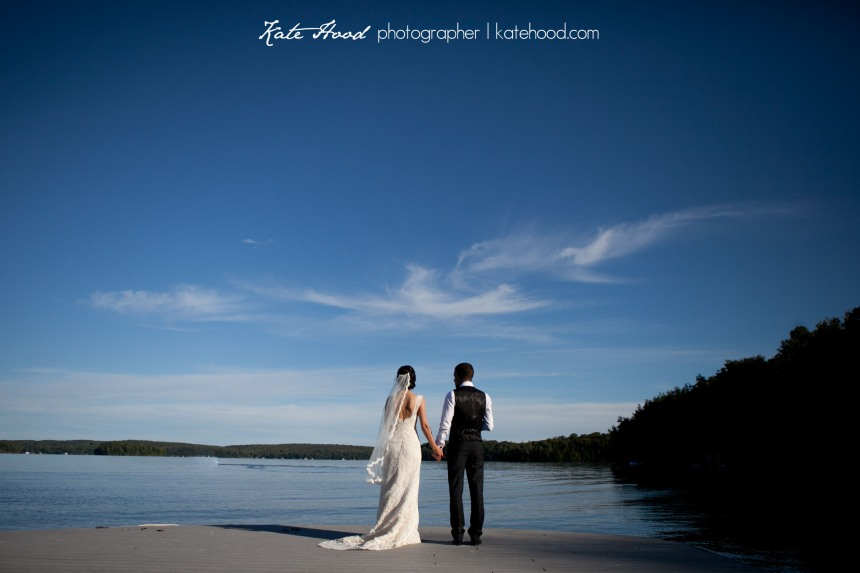 Beautiful Wedding Photography in Muskoka
