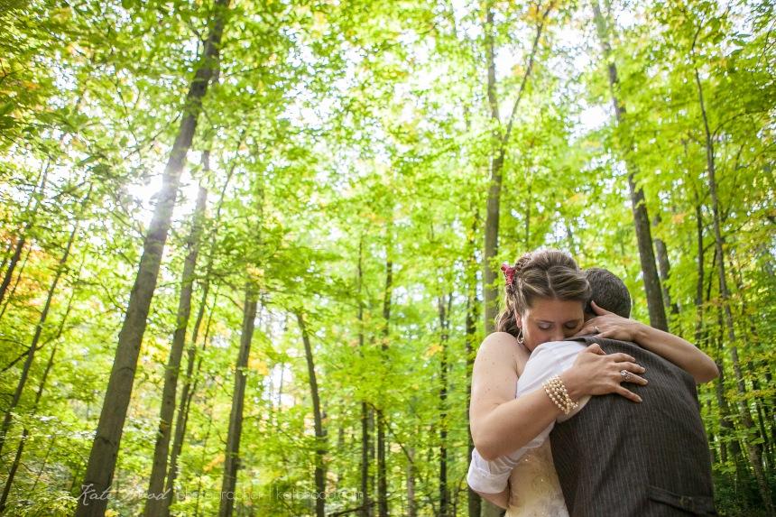 Ottawa Valley Forest Wedding Photos