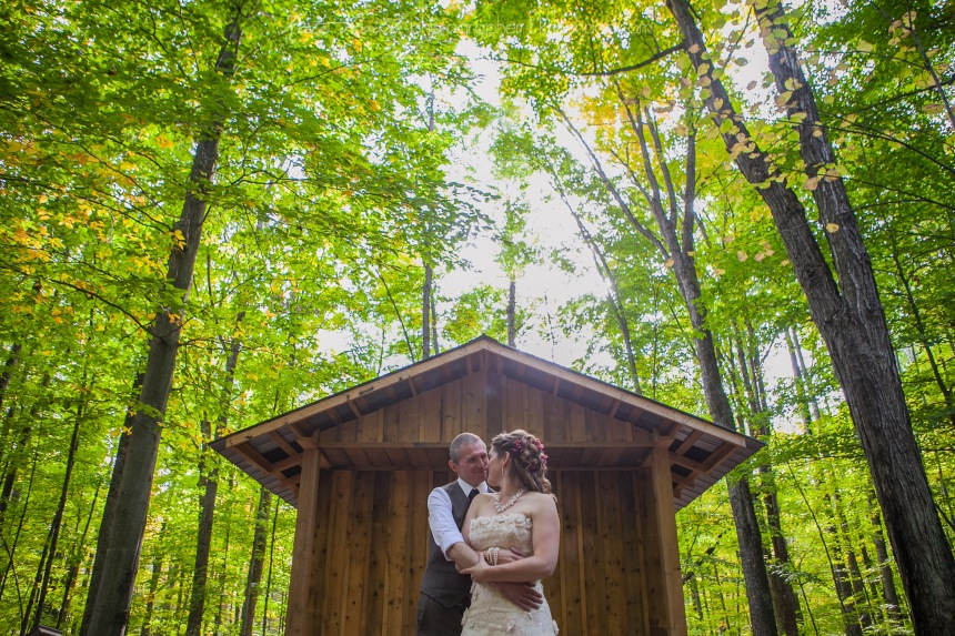 Ottawa Valley Forest Wedding Photos