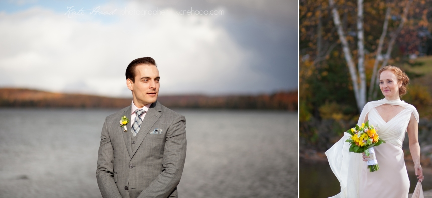 Muskoka Fall Wedding Photos