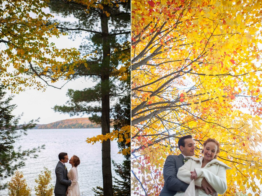 Muskoka Fall Wedding Photos
