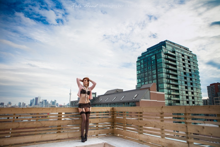 Commercial Boudoir Photography at The Gladstone Hotel