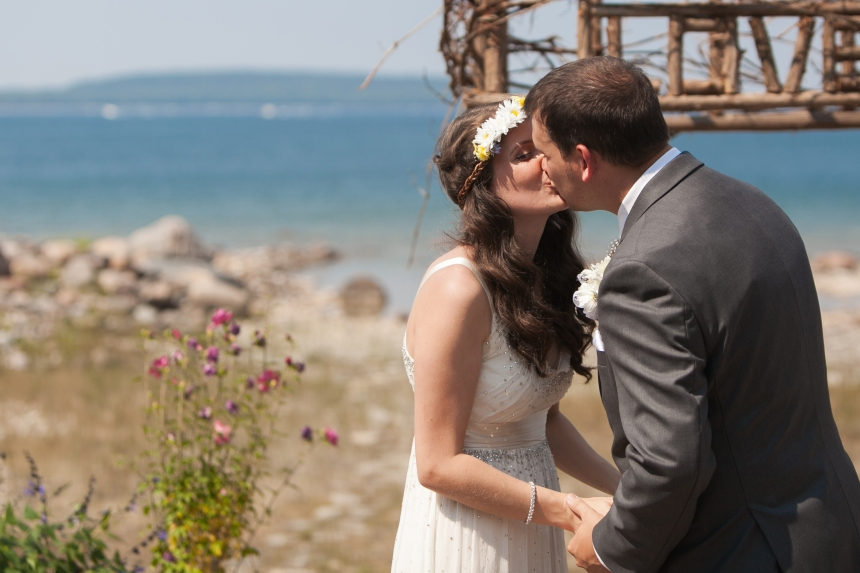 Beach Weddings in Georgian Bay