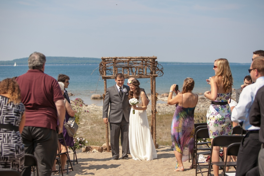 Beach Weddings in Georgian Bay