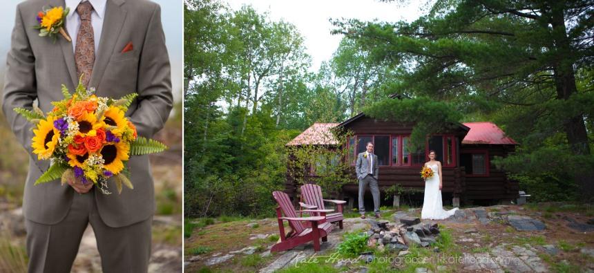 Cottage Wedding Pictures in Muskoka