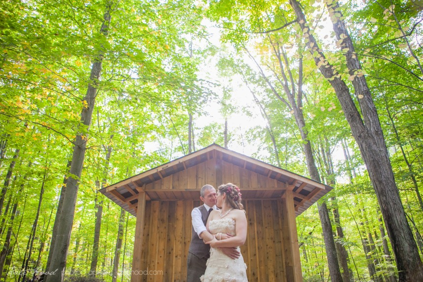 Romantic Forest Weddings in Ontario