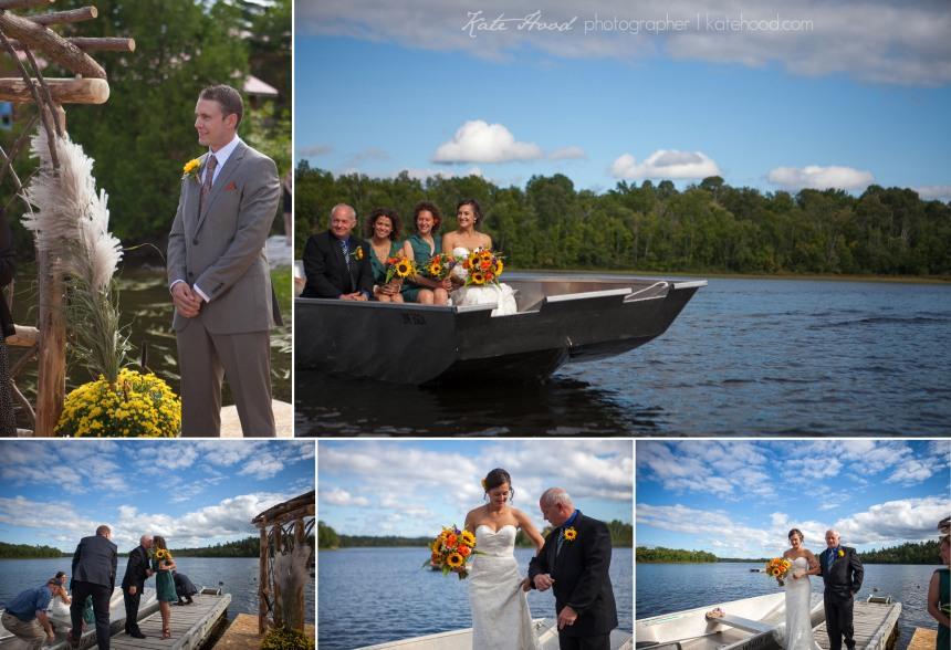 White Pine Lodge Wedding in Haileybury