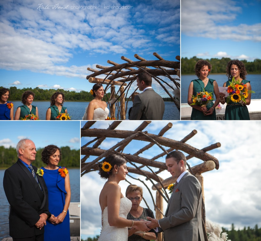White Pine Lodge Wedding in Haileybury