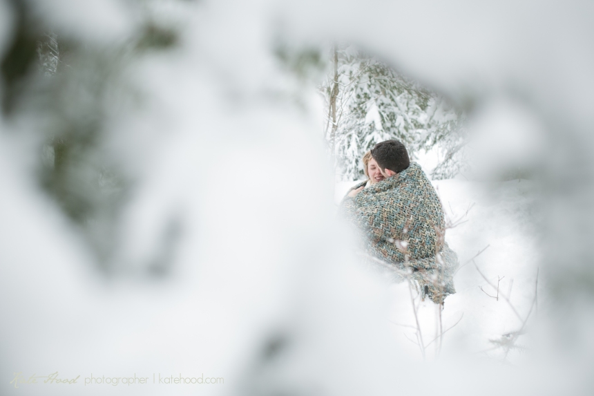 North Bay Ontario Winter Engagement Session