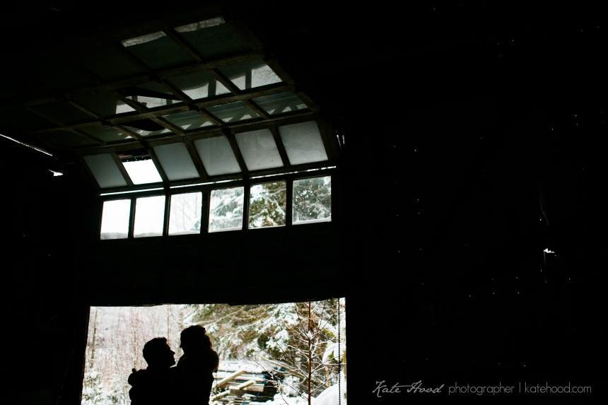 Muskoka Winter Engagement Session
