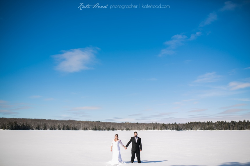 Romantic Forest Wedding Muskoka