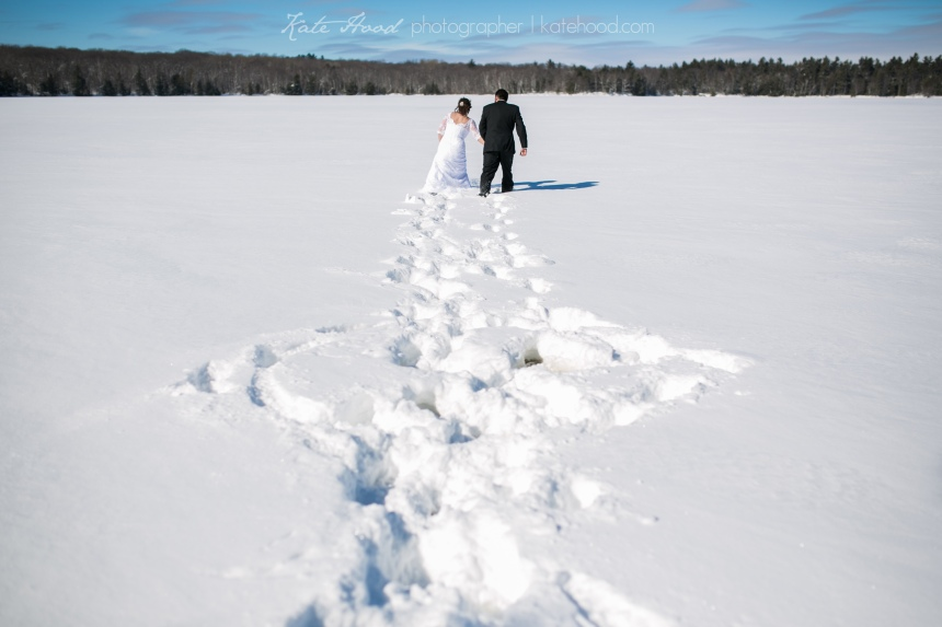 Muskoka Winter Elopement