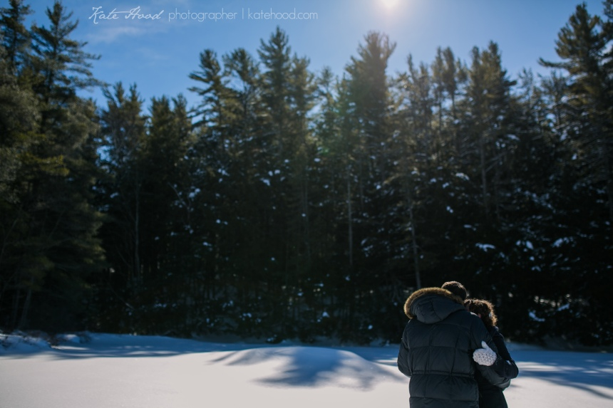Muskoka Winter Elopement