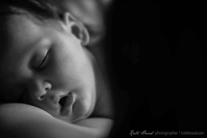 Black and White Baby Photos Toronto
