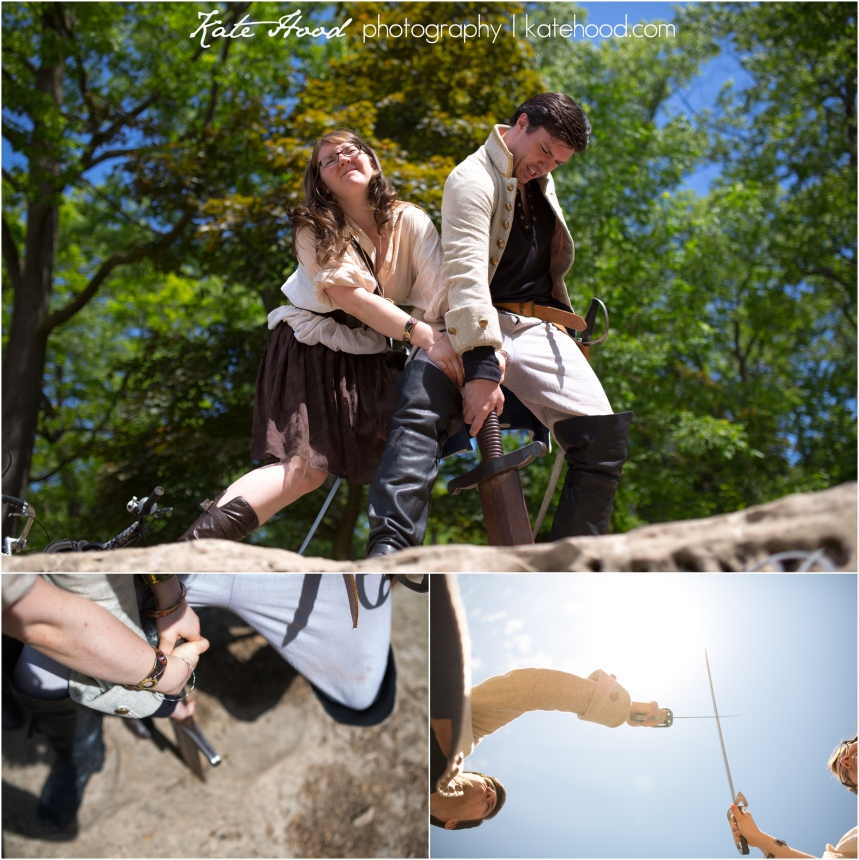 Pirates in High Park Engagement