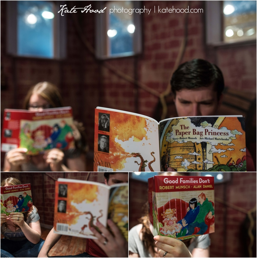 Toronto Book Store Engagement Photos