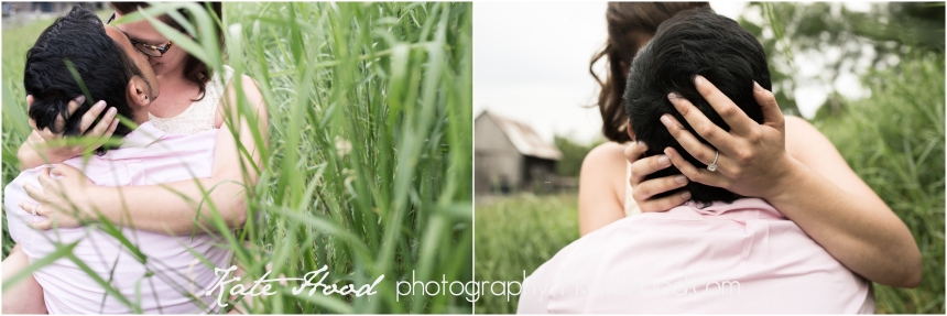 Romantic Farm Engagement Session Muskoka