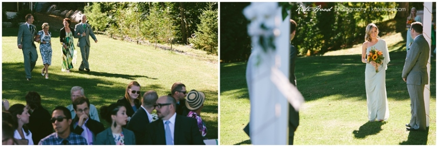 Outdoor Wedding Ceremonies Ontario