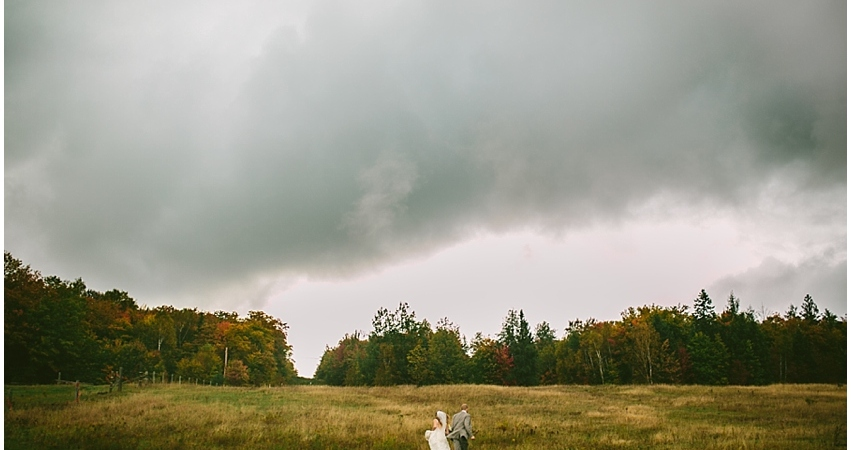 Rainy Wedding Days Ontario