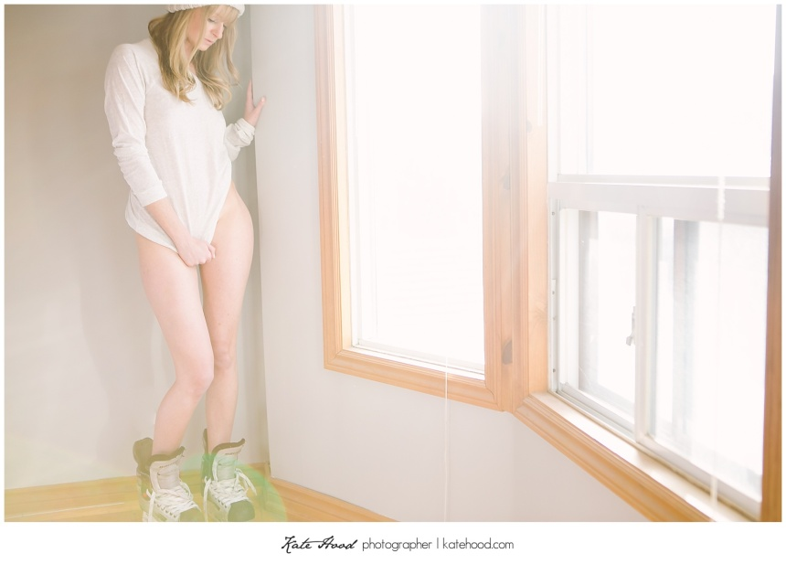 Hockey Boudoir Photographs