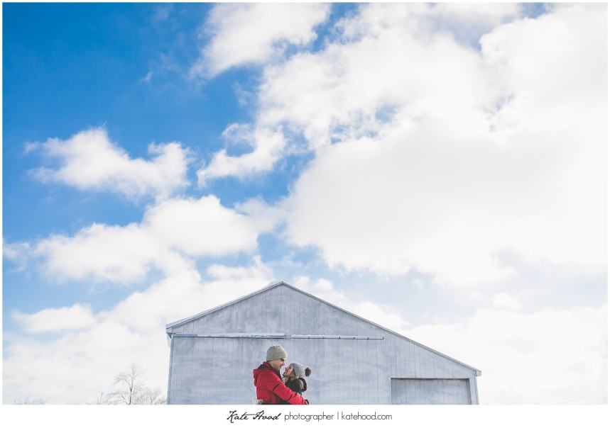 Ontario Winter Engagement Photography