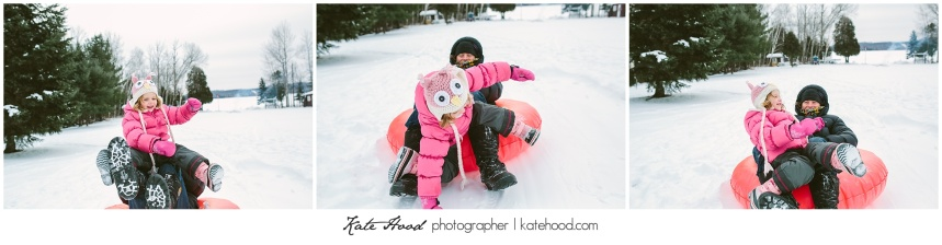 Ontario Winter Family Portraits
