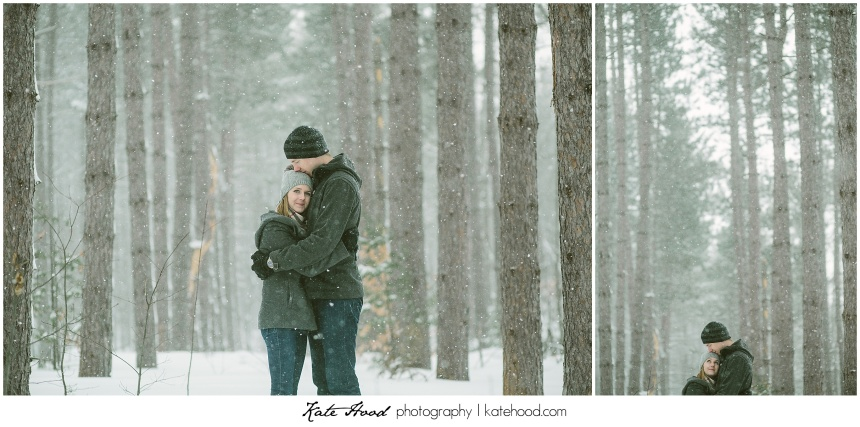 Winter Taboo Engagement Photographs