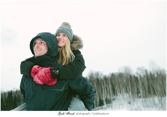 Fun Winter Engagement Photos
