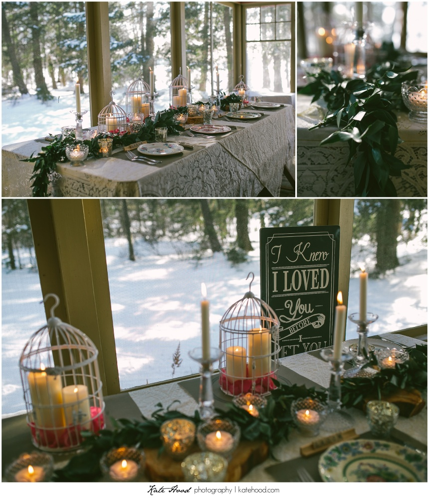 Antique Muskoka Wedding Details