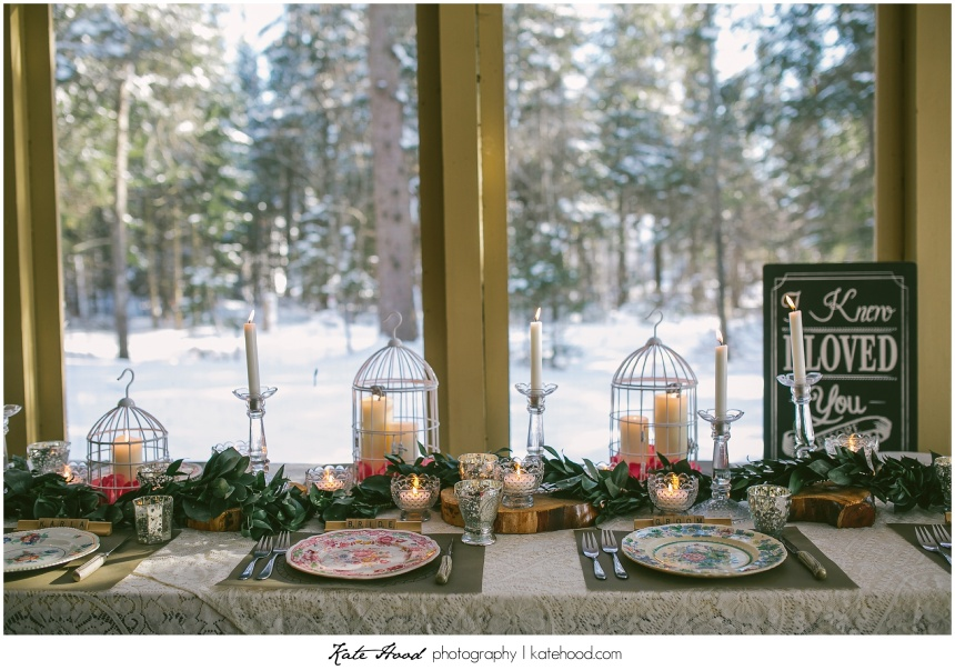 Winter Stylized Muskoka Weddings