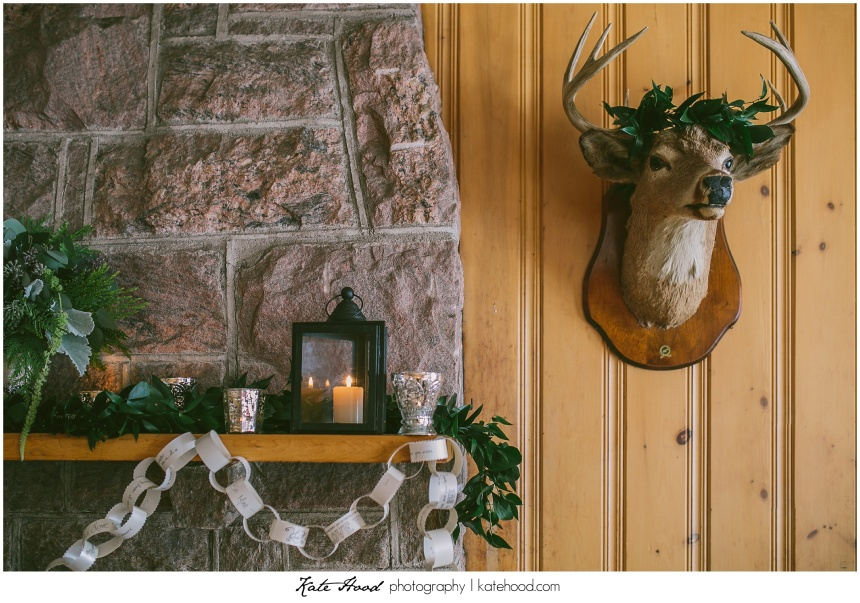Antler Wedding Details
