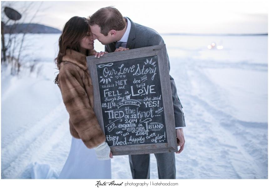 Winter Wedding Ceremonies in ontario