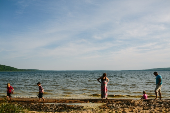 Muskoka Beach Family Photographer